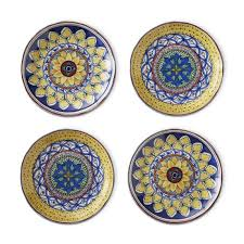 horderve plates sicily mixed appetizer plates set of 4 williams sonoma