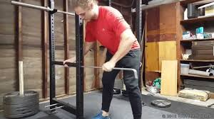 Bench Press Safety Stands How To Use Safety Pins Squatting And Benching Without A Spotter