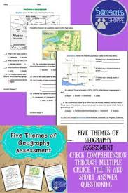 5 themes of geography lesson 5 themes of geography worksheets activities projects powerpoints