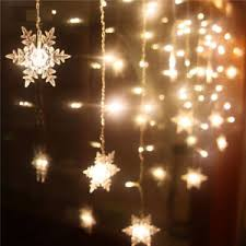 snowflake lights christmas 20 led snowflake fairy string lights wedding party