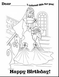 coloring pages happy birthday amazing happy birthday princess coloring pages with birthday