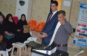 changement bureau de vote à l approche des élections les irakiens espèrent le changement