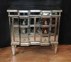 Art Deco Mirror Chest Drawers Mirrored Furniture Chests Cabinet - Art deco bedroom furniture london