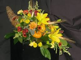 cornucopia thanksgiving arrangement williamsburg floral