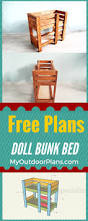 How To Make Wooden Doll Bunk Beds by Bunk Beds How To Make A Doll Bed My Froggy Stuff My Froggy Stuff