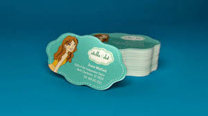 Cool Shaped Business Cards Custom Shaped Business Cards Cool Business Cards Custom Shaped