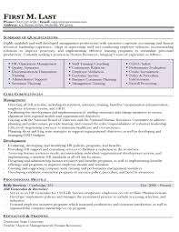 Combination Resume Template by Human Resource Resume Templates Exol Gbabogados Co