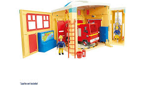 fireman sam electronic pontypandy fire station playset kids