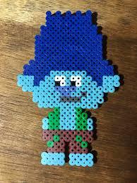 branch troll perler bead pattern trolls crafty diy