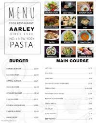 customizable design templates for restaurant menu postermywall