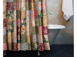 Cottage Shower Curtains Antique Chic Shower Curtain Gl 0407ashw Shower Curtains Other