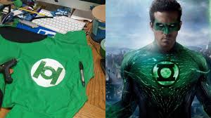 make your own green lantern costume diy youtube