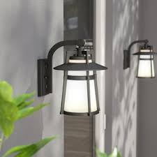 Outdoor Wall Sconce Up Down Lighting Modern Outdoor Wall Lighting Allmodern