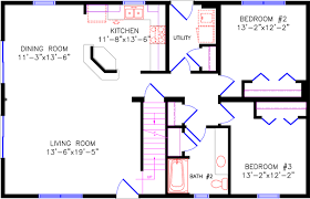 floor plans with photos 2 bedroom house plans open floor plan modern house