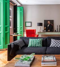 in madrid gutsy design wakes up a century old pied à terre