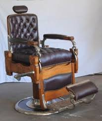 antique barber chair atlantas best barbershops pinterest