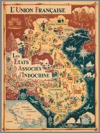 map asie l union les etats associes d indochine david rumsey