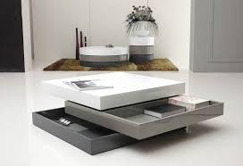 Modern Coffee Tables Coffee Tables Decor Coffee Table Modern Foldable Books Utensils