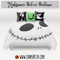 nightmare before bedding duvet from canis picta mash