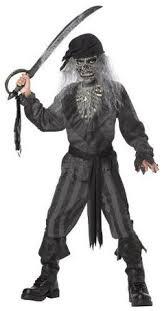 Dead Pirate Costume Halloween Men U0027s Zombie Pirate Ghost Costume Gray Beige Size Https