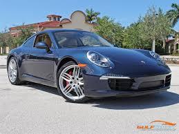 porsche 911 dark green 2013 porsche 911 carrera s for sale in bonita springs fl stock