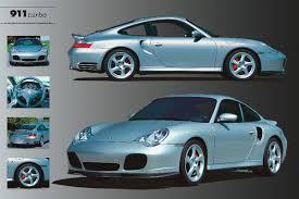 porsche turbo poster plakat obraz porsche 911 turbo kup na posters pl