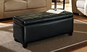 marvelous black storage ottoman storage ottoman bench as useful