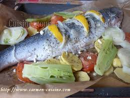 cuisine papillote saumon entier cuit en papillote cuisine gourmande de carmencita