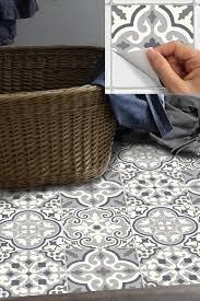 credence autocollant cuisine tile stickers decal for kitchen bathroom back splash floor bmix6