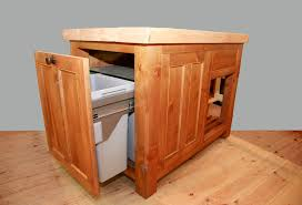 kitchen island with trash bin charming kitchen island with garbage can and pull out wicker