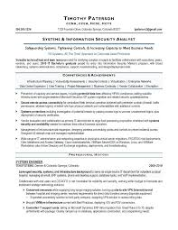 executive resume service information security analyst resume sample it security analyst