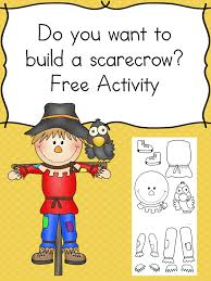Challenge What To Do Want To Build A Scarecrow Challenge A Child S Cutting Skills