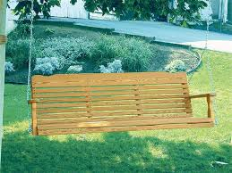 amish pine wood westchester porch swing from dutchcrafters amish