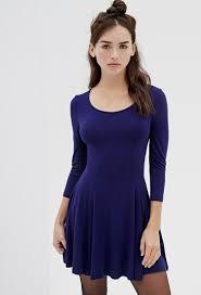 blue skater dress forever 21 naf dresses