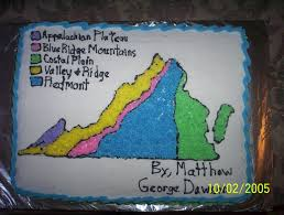 Blank Map Of Virginia by Virginia Regions Map My Nephew Had To Draw A Map Of Virginia And