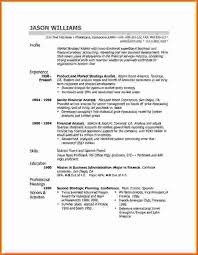 Profile On Resume Example by Mla Citation Youtube Purdue