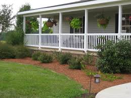 pictures on raised ranch with front porch free home designs