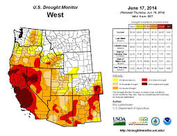 Usa Drought Map by Heat Drought Causes U0027significant Increase U0027 Of Wildfires Ktla