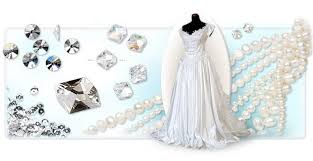 wedding pearls of wisdom gown embellishment fire mountain gems