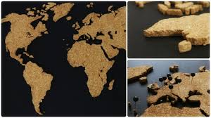 Diy World Map by Kork Weltkarte Diy Cork World Map Eng Sub Youtube