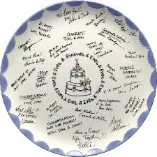 guest book platters ca wedding receptions diy guest book alternatives