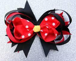 mickey mouse hair bow minnie mouse hair bow minnie mouse hair disney bow mickey