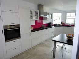 cadre cuisine réalisation d une cuisine façade bois blanchi structuré sur
