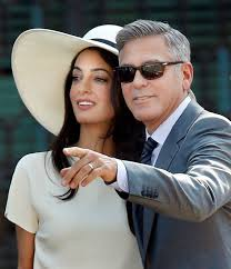 george clooney wedding it s official george clooney weds amal in civil ceremony in four