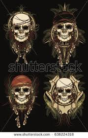 pirate tattoo stock images royalty free images u0026 vectors