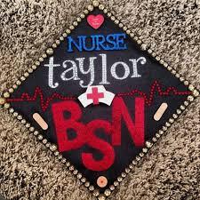 nursing graduation cap 76 best nursing graduation caps images on nursing