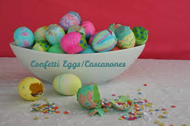 decorated egg shells how to make confetti eggs cascarones