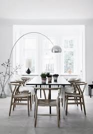learn how to use modern floor lamps with modern dining tables