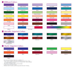 ribbon color award our products