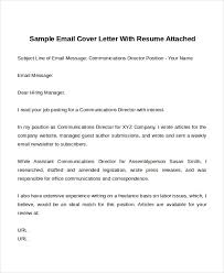 Email With Resume And Cover Letter How To Write Email Cover Letter Email Cover Letter Template How